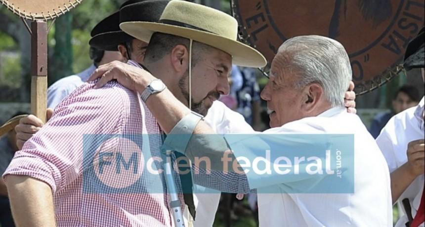 RECONOCIMIENTO A QUIEN DIO INICIO A LA FIESTA DEL HOMBRE DE CAMPO