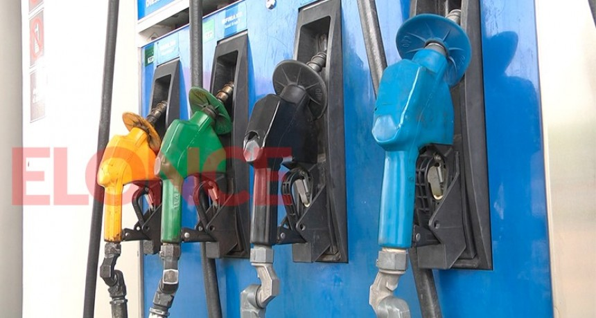 El fin de semana subirían entre 5 y 6 por ciento los precios de los combustibles
