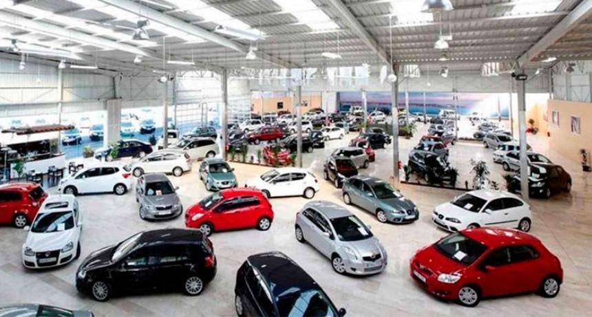 Venta de vehículos nuevos: patentamiento bajó más del 35% en noviembre