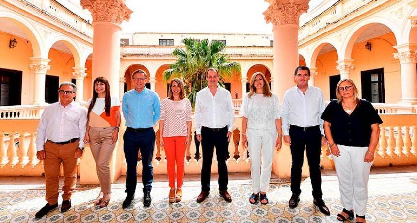 Bordet anunció el gabinete de ministros que lo acompañará en la próxima gestión