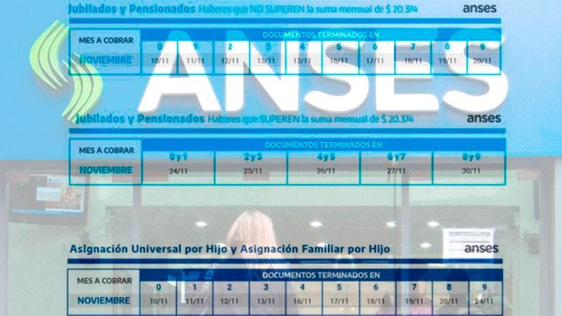 Jubilaciones, pensiones y AUH: se inician los cronogramas de pagos de Anses