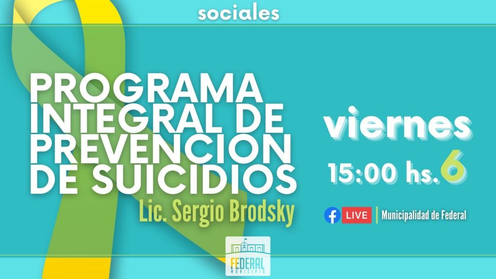 Programa Integral de Prevención de Suicidios .