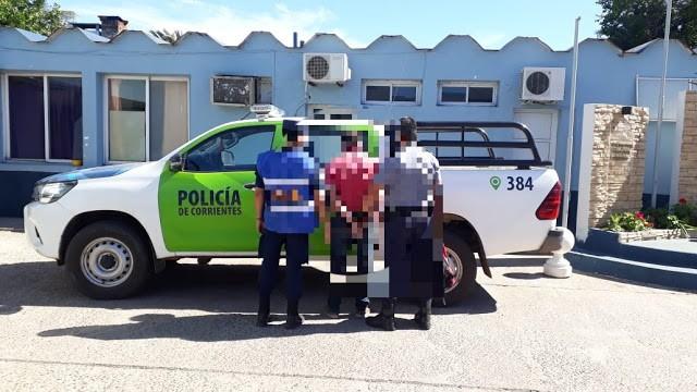 Trasladan a  oriundo de la Pcia. de Corrientes, quien fuera detenido y alojado en esta Jefatura