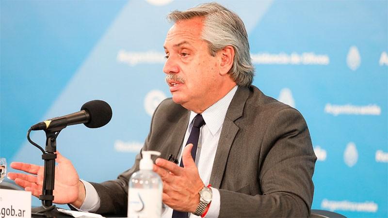 Fernández: se podría vacunar a 10 millones de argentinos