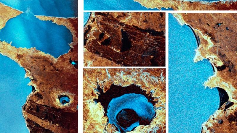 Difundieron las primeras imágenes tomadas por el satélite argentino Saocom 1B