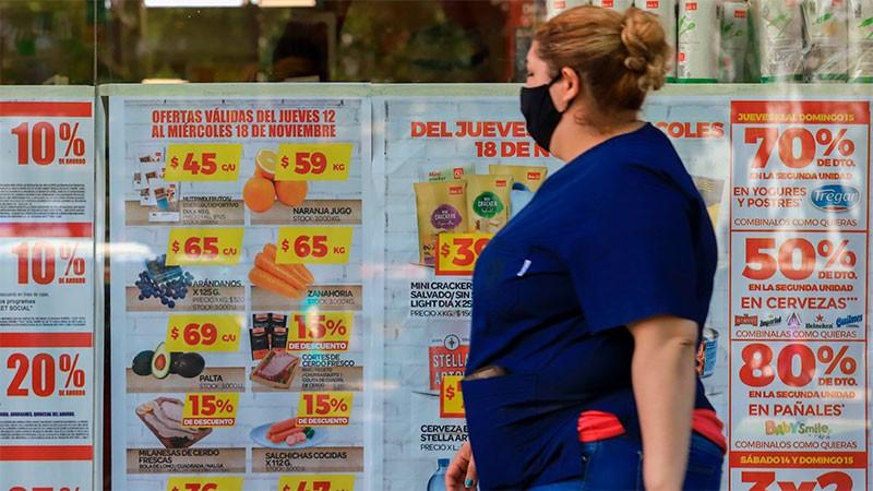 La inflación de octubre fue la más alta del año: registró de 3,8% y acumula 26,9