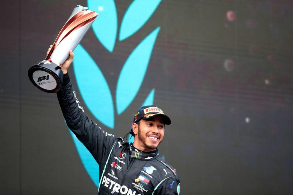 Fórmula 1, Gran Premio de Turquía: Lewis Hamilton igualó el récord de coronas de Michael Schumacher