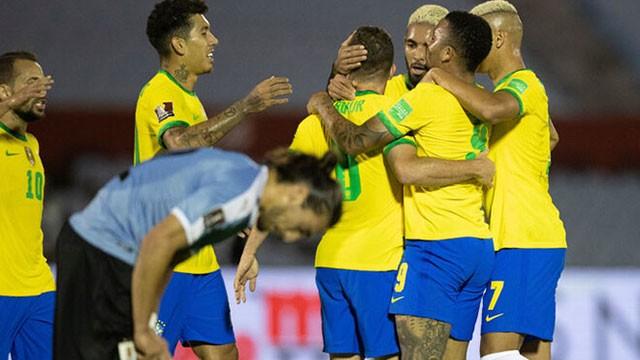 Brasil superó a Uruguay y lidera las Eliminatorias con comodidad