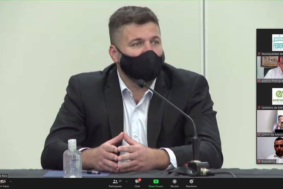 Gerardo Chapino fue parte del encuentro de la Liga de Intendentes Justicialistas