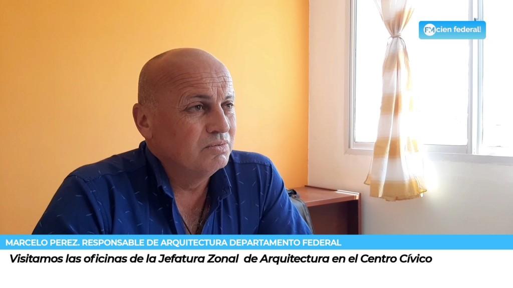 Visitamos las oficinas de la Jefatura Zonal  de Arquitectura en el Centro Cívico