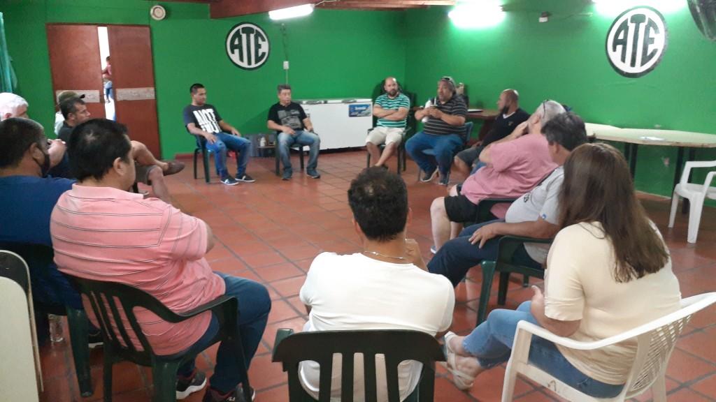 Encuentro de Seccionales de Ate en Federal