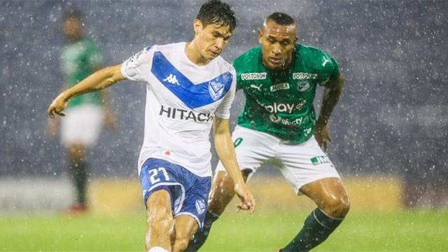 Vélez sacó ventaja ante Deportivo Cali por la Copa Sudamericana