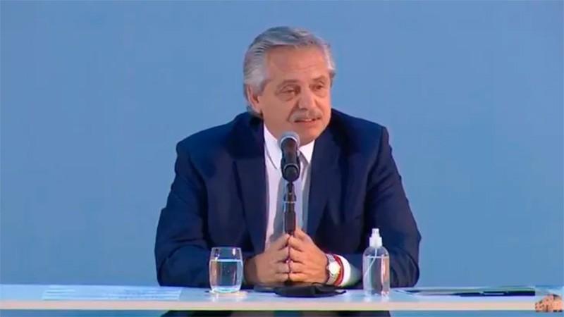 Fernández anunció Plan de Promoción de la Producción de Gas Argentino