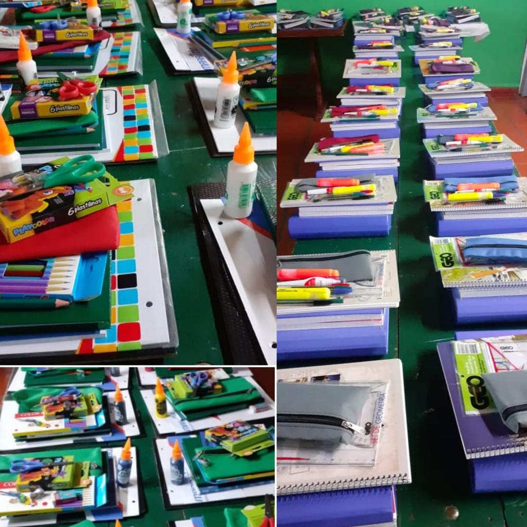 Kits Escolar 2021: beneficio gratuito para afiliados/as de Ate en Federal.