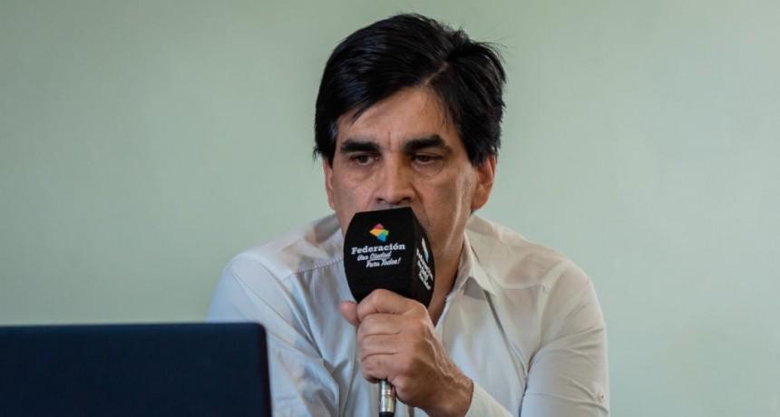 Carlos Miller secretario de turismo de Federación confirmó la apertura del complejo termal