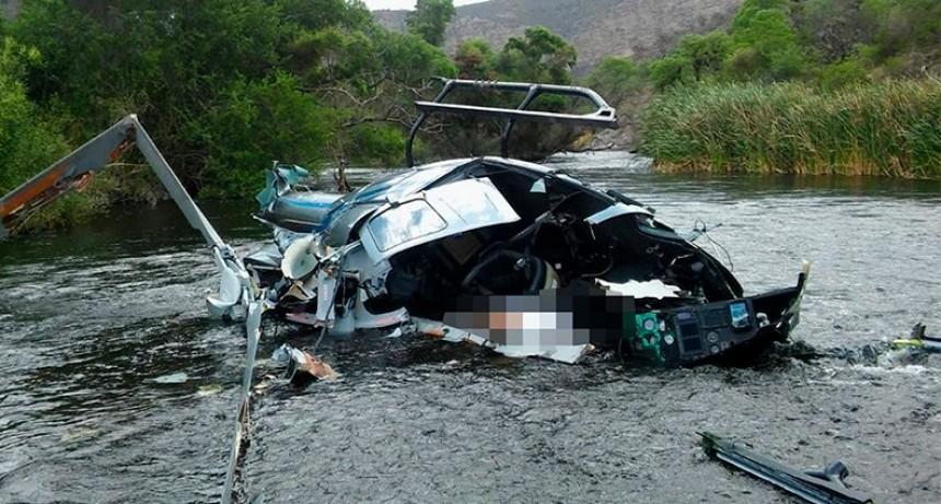 Iniciaron pericias sobre los restos del helicóptero en el que murió el banquero