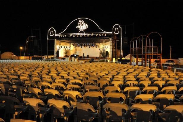 Los preparativos del Festival del Chamame