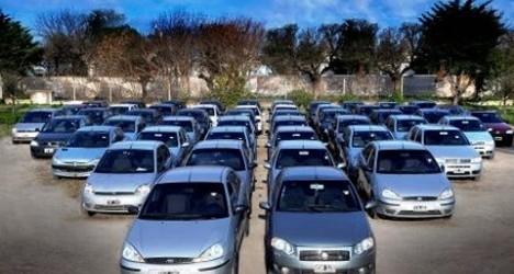 En los últimos 10 años se duplicó el padrón automotor entrerriano