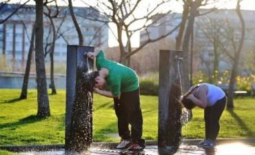 La ola de calor en gran parte del país es la más importante en 40 años