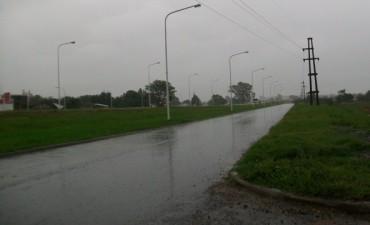 La lluvia trajo un poco de alivio a la zona