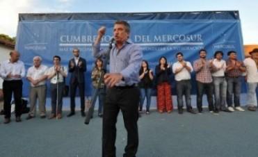 """Urribarri: Entre Ríos es """"la más fiel expresión de las políticas públicas implementadas por Néstor y Cristina"""""""