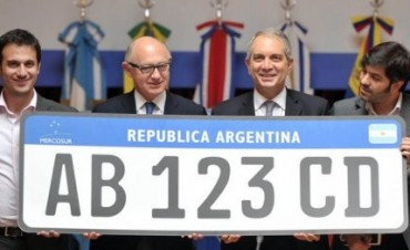 Patentes de autos únicas para el Mercosur: Empezarán a usarse en 2015