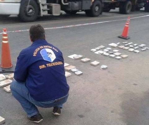 Dos paraguayos fueron detenidos con 90 kg. de Marihuana