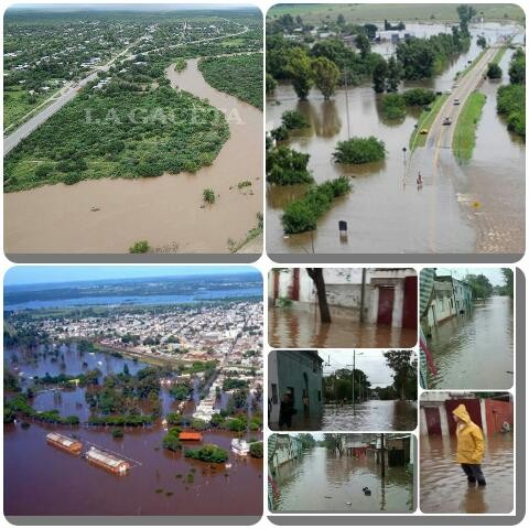 En un registro histórico el río Uruguay en Concordia llegará a los 16 metros