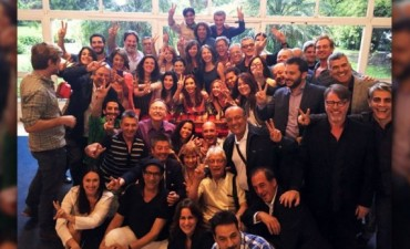 Cristina Kirchner se despidió de los artistas K