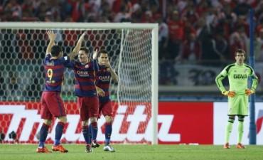Se terminó el sueño de River, BARCELONA goleó y se quedó con el mundial de Clubes