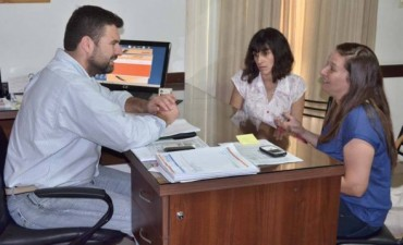 Coordinan tareas preventivas con el área de Epidemiología de la Provincia