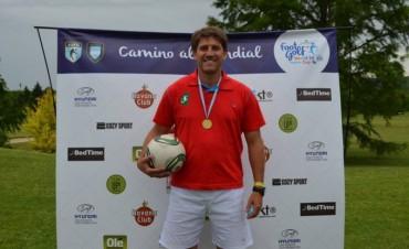 El federalense Pablo Donatti estará participando del campeonato mundial de FootGolf