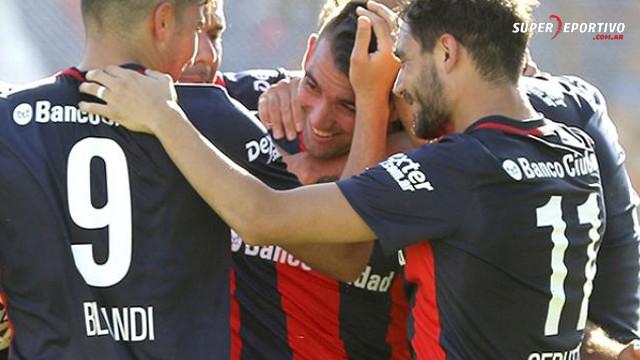 San Lorenzo derrotó Unión y se trepó a lo más alto