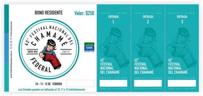 COMIENZA LA VENTA DE BONOS PARA RESIDENTES DE LA EDICIÓN 42 DEL FESTIVAL NACIONAL DEL CHAMAMÉ