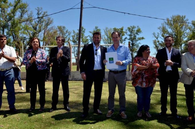 En su visita a Federal el Gobernador Bordet anuncio que se licitara la obra cloacal