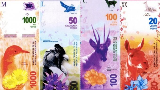 Los billetes con próceres serán reemplazados por otros con animales en 2017