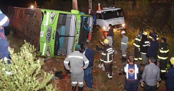 Accidente en Brasil: los detalles de la tragedia, en una visualización