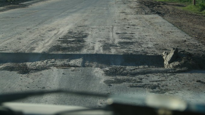 Reparen la Ruta Nacional Nº 127 Evitemos mas muertes.
