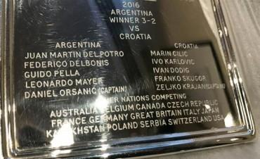 Copa Davis: la Argentina ya tiene grabado su nombre como campeón en el trofeo más preciado