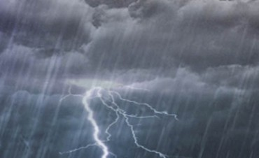 Hay alerta por tormentas fuertes para una zona de Entre Ríos y otras provincias