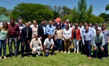Bordet en Federal juntó a los intendentes del PJ por Ganancias y legislativas 2017