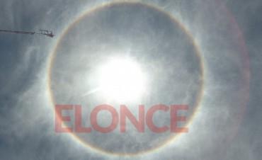 Video y fotos de la aureola solar que sorprendió a los entrerrianos: Su origen