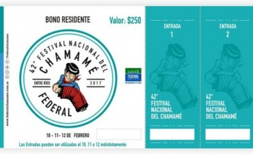 YA ESTÁ A LA VENTA EL BONO PARA RESIDENTES DE LA EDICIÓN 42 DEL FESTIVAL NACIONAL DEL CHÁMAME