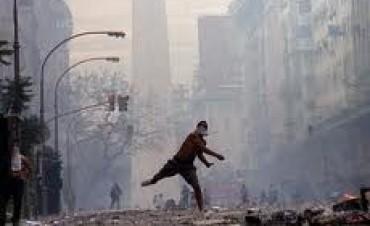 El comienzo del fin de Fernando De la Rúa. Vergüenza muerte e injusticia