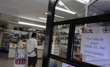 Por una deuda el PAMI, las farmacias podrían suspender la atención a jubilados en las Fiestas