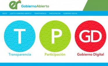Se puso en marcha el Portal de Gobierno Abierto de Entre Ríos