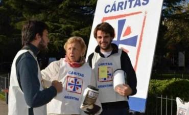 Colecta Anual de Caritas 2016 en Federal