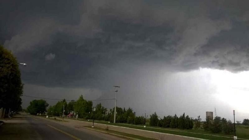 Hay alerta meteorológico para una zona de Entre Ríos