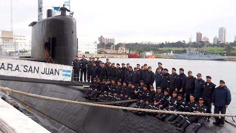 Sigue la búsqueda del submarino: la Armada investiga nuevo contacto