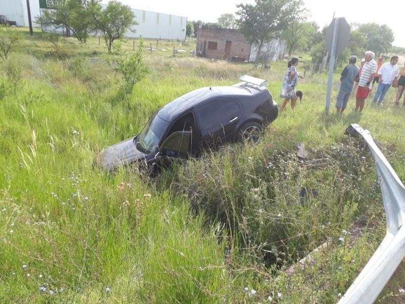 Adelanto : Accidentado amanecer de domingo